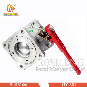 GY-301 square flange ball valve